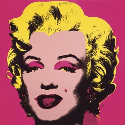 Marilyn Monroe (Marilyn), 1967 (hot pink) by Andy Warhol