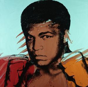 Muhammad Ali, c. 1977 by Andy Warhol