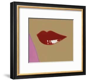 Page from Lips Book, c.1975 by Andy Warhol