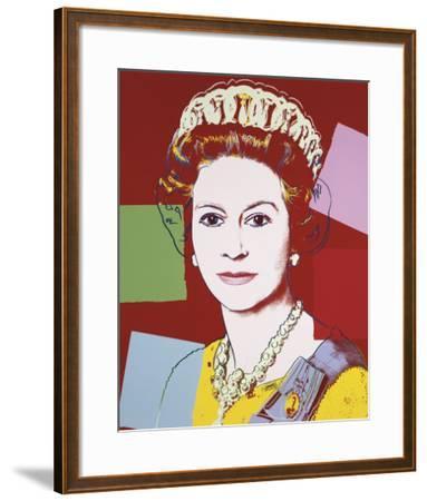 Reigning Queens: Queen Elizabeth II of the United Kingdom, 1985 (dark outline)