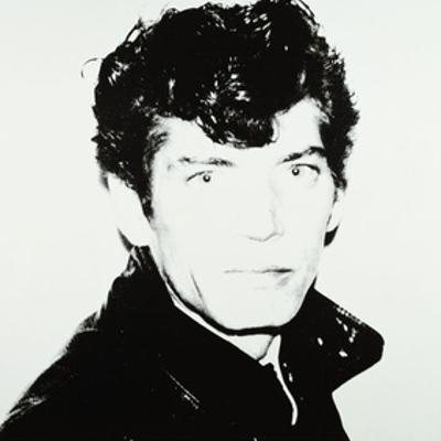 Robert Mapplethorpe, 1983 by Andy Warhol