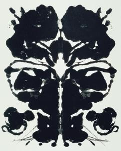Rorschach by Andy Warhol
