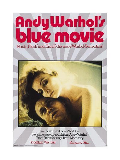 Andy Warhol's Blue Movie--Giclee Print