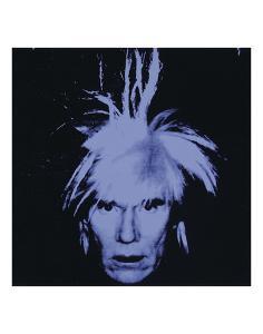 Self Portrait, 1986 by Andy Warhol