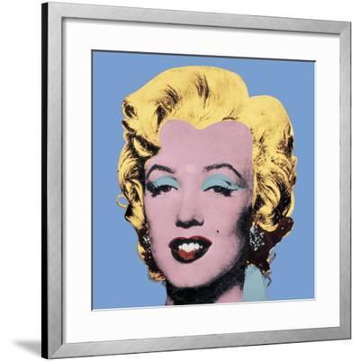 Shot Light Blue Marilyn, 1964