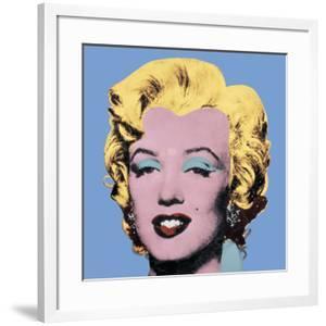 Shot Light Blue Marilyn, 1964 by Andy Warhol