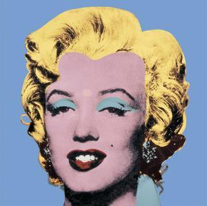 Shot Light Blue Marilyn, 1964 by Andy Warhol