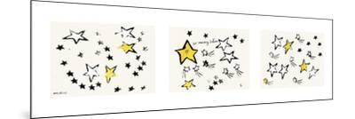 So Many Stars, c. 1958 (triptych) by Andy Warhol