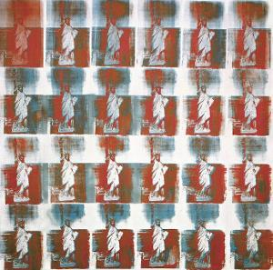Statue of Liberty, c.1963 by Andy Warhol