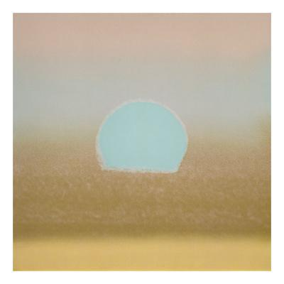 Sunset, 1972 (gold, blue)