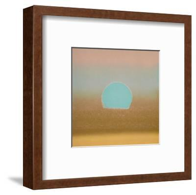 Sunset, c.1972 40/40 (gold, blue)