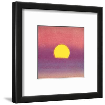 Sunset, c.1972 40/40 (lavender) by Andy Warhol