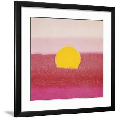 Sunset, c.1972 (hot pink, pink, yellow) by Andy Warhol