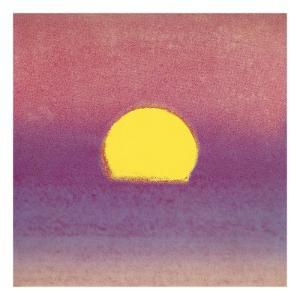 Sunset, c.1972 (pink, purple, yellow) by Andy Warhol