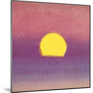 Sunset, c.1972 (pink, purple, yellow) by Andy Warhol