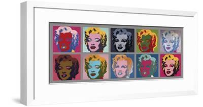Ten Marilyns, c.1967
