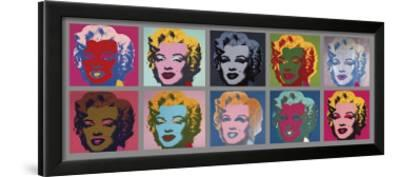Ten Marilyns, c.1967 by Andy Warhol