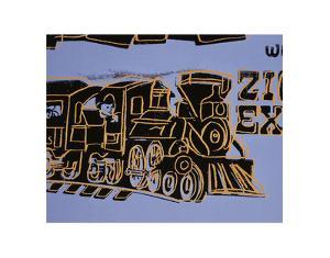 Train, c.1983 by Andy Warhol