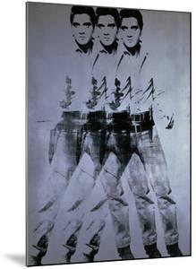 Triple Elvis, 1963 by Andy Warhol