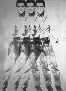 Triple Elvis®, 1963 by Andy Warhol