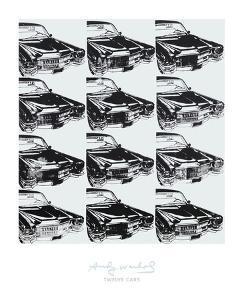 Twelve Cars, 1962 by Andy Warhol