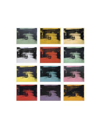 Twelve Electric Chairs, 1964/65