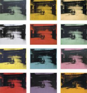 Twelve Electric Chairs, 1964/65 by Andy Warhol