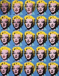 Twenty-Five Colored Marilyns, c.1962 by Andy Warhol