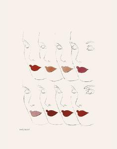 Untitled (Female Faces), c. 1960 by Andy Warhol