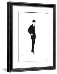 Untitled (Male Fashion Figure), c. 1960 by Andy Warhol