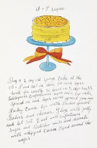 Wild Raspberries by Andy Warhol and Suzie Frankfurt, 1959 (orange and yellow) by Andy Warhol