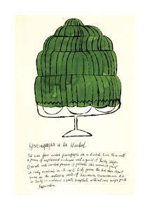 Wild Raspberries, c.1959 (green) by Andy Warhol