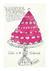 Wild Raspberries, c.1959  (pink) by Andy Warhol