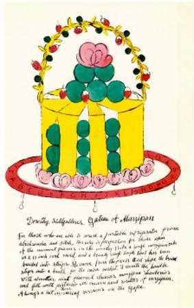 Wild Raspberries, c.1959  (yellow and green)