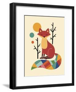 Rainbow Fox by Andy Westface