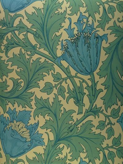Anemone' Design-William Morris-Giclee Print