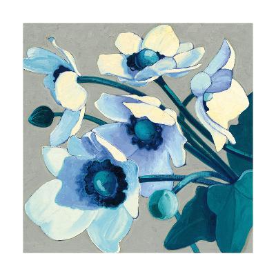 Anemones Japonaises III-Shirley Novak-Art Print