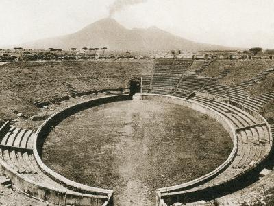 Anfiteatro, Pompeii, Italy, C1900s--Giclee Print