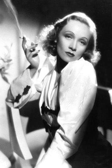 Ange Angel De Ernstlubitsch Avec Marlene Dietrich 1937--Photo
