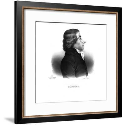 Ange-Élisabeth-Louis-Antoine Bonnier, (c1820s)-Maurin-Framed Giclee Print