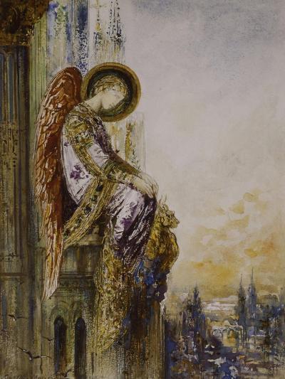 Ange voyageur-Gustave Moreau-Giclee Print