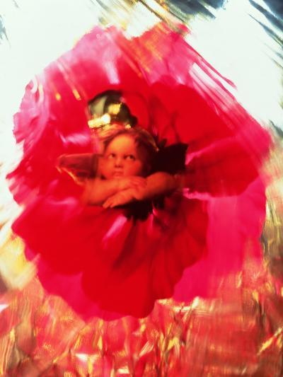 Angel and Poppy-Katherine Fawssett-Giclee Print