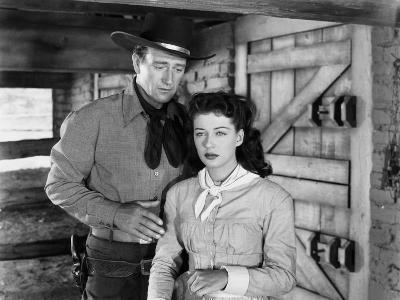 Angel and the Badman, John Wayne, Gail Russell, 1947--Photo