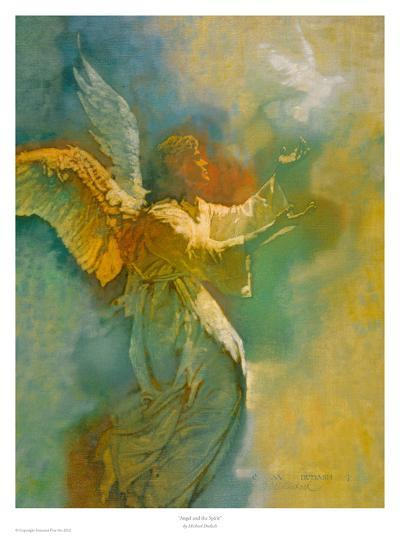Angel and the Spirit-Michael Dudash-Art Print