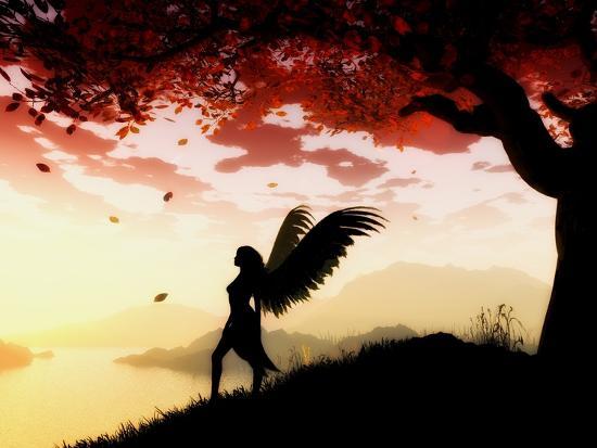 Angel at Dawn-Julie Fain-Art Print