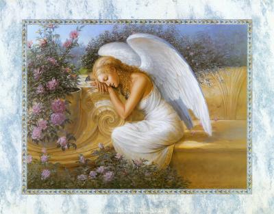 Angel at Rest-Edward Tadiello-Art Print