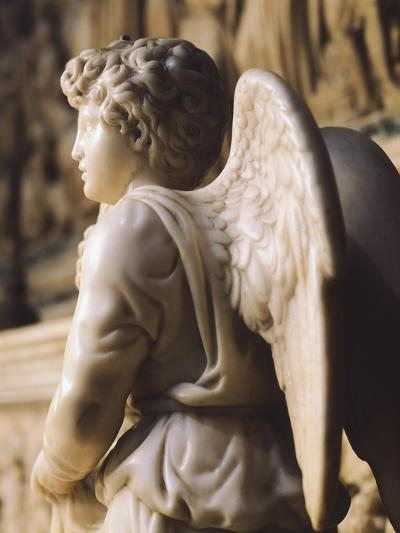 Angel Candelabra for the Ark of St Dominic-Michelangelo Buonarroti-Giclee Print