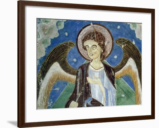 Angel, Central Figure, Detail of Southern Wing of Stone Cross--Framed Giclee Print