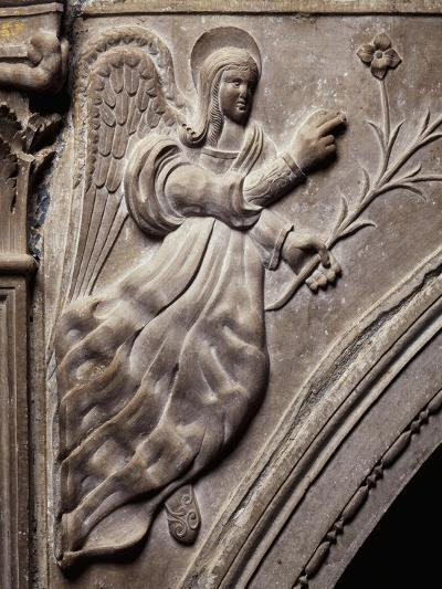 Angel, Detail of Larino Cathedral, Molise, Italy--Giclee Print