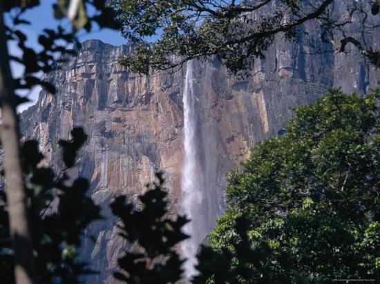 Angel falls canaima national park venezuela south america angel falls canaima national park venezuela south americaby charles bowman freerunsca Images